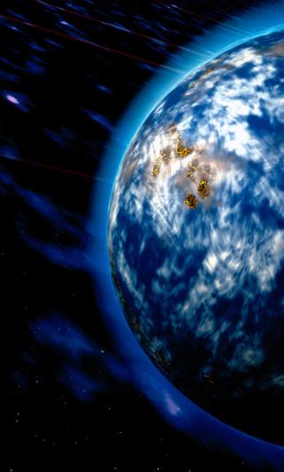 天の川「Earth from outer space」:スマホ壁紙(16)