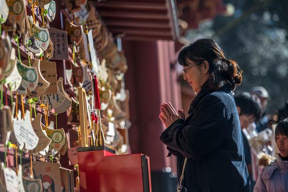 日本の神社「People Celebrate New Year's In Japan」:写真・画像(0)[壁紙.com]