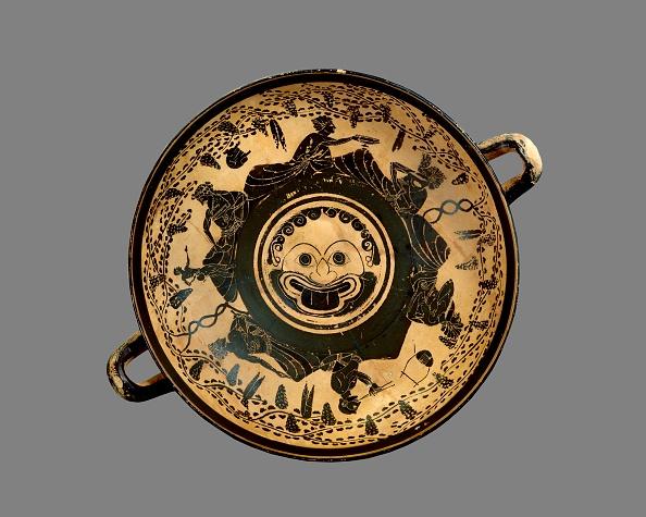 Black-Figure Ceramics「Athenian Black-Figure Footed Cup (Kylix)」:写真・画像(7)[壁紙.com]