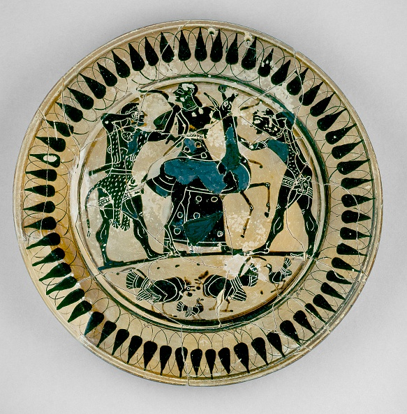 Black-Figure Ceramics「Athenian? (Or Laconian?) Black-Figure Plate Depicting Heracles And Apollo Fighting Over A Deer」:写真・画像(17)[壁紙.com]