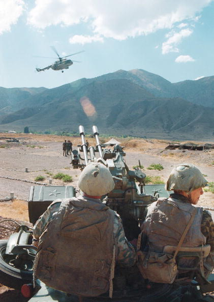 Russian Military「Russian Soldiers Patrol Afghan Border in Tajikistan」:写真・画像(12)[壁紙.com]