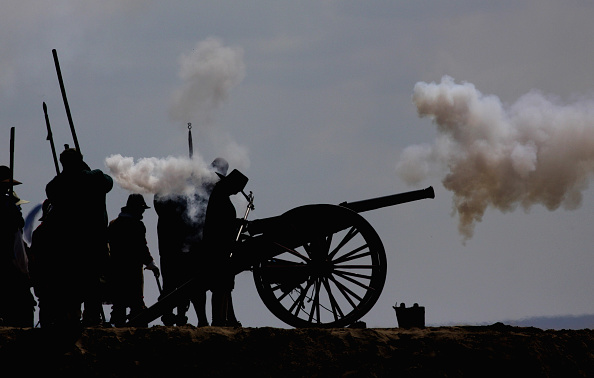 Cannon Beach「Sealed Knot Members Participate In A Civil War Re-enactment」:写真・画像(8)[壁紙.com]