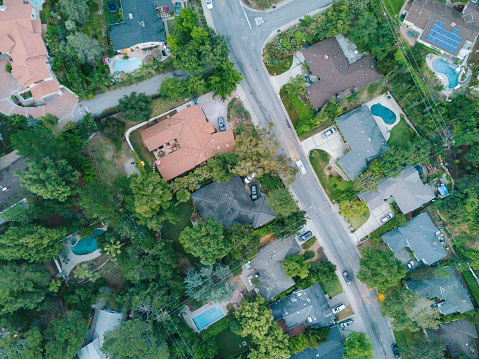 Angeles National Forest「Aerial of Neighborhood」:スマホ壁紙(2)