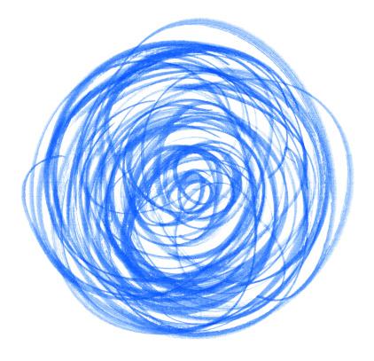 Masterpiece「ブルーサークルブラシストローク」:スマホ壁紙(17)