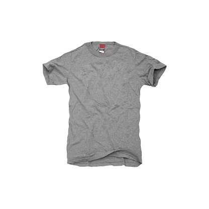 Fashion「A grey t-shirt on white background」:スマホ壁紙(15)
