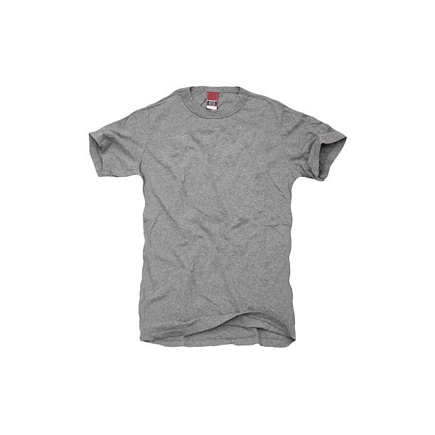 A grey t-shirt on white background:スマホ壁紙(壁紙.com)