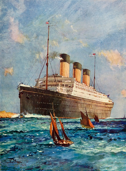 Passenger Craft「The White Star Liner 'Majestic'」:写真・画像(10)[壁紙.com]