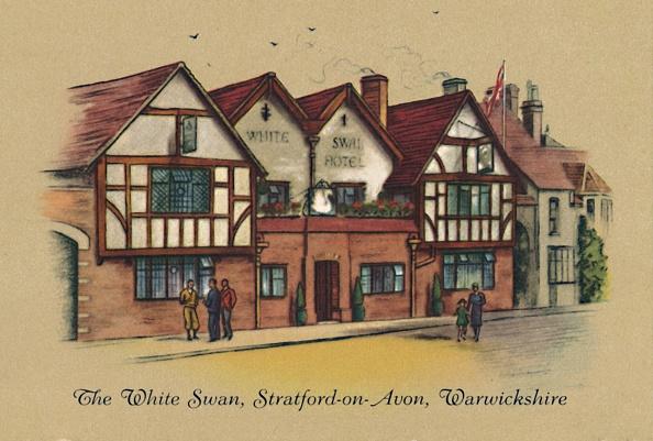 Cigarette Card「The White Swan」:写真・画像(13)[壁紙.com]