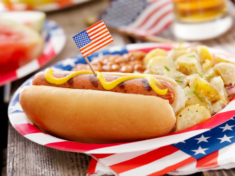 Fourth of July「All American Hotdog and a Beer」:スマホ壁紙(13)