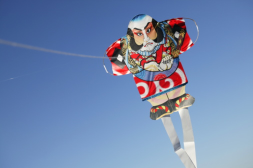 戦国武将「Japanese Yakko kite,  Japan.」:スマホ壁紙(15)