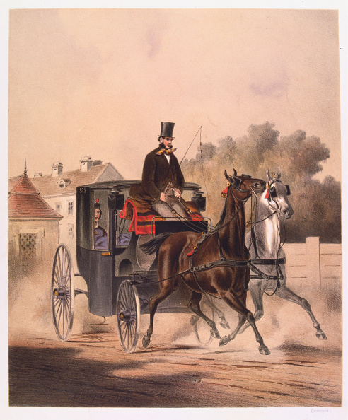 Chromolithograph「Carriage With A Stately Coach」:写真・画像(12)[壁紙.com]