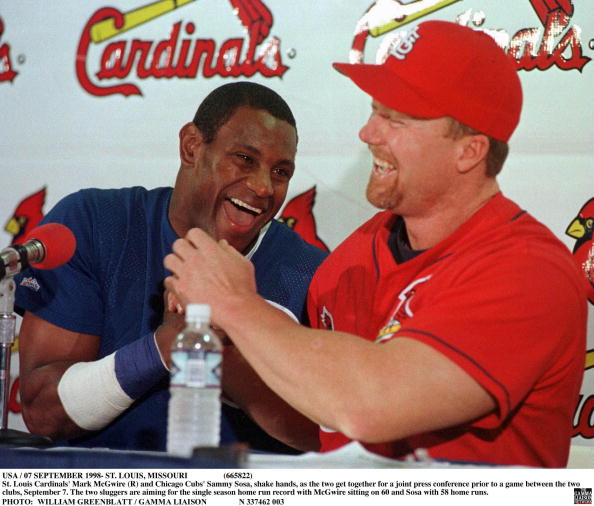 Bill Greenblatt「St Louis Cardinals' Mark Mcgwire」:写真・画像(7)[壁紙.com]