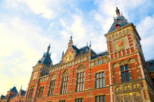 Amsterdam「Amsterdam Centraal railway station」:スマホ壁紙(3)