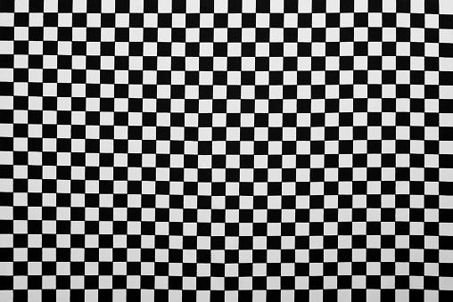 タータンチェック「写真の生地を背景に、ブラックとホワイトの格子縞」:スマホ壁紙(18)