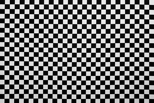 写真の生地を背景に、ブラックとホワイトの格子縞:スマホ壁紙(壁紙.com)
