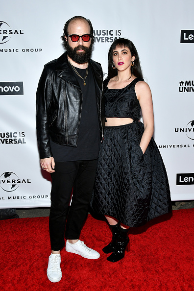 Biker Jacket「Universal Music Group's 2020 Grammy After Party Presented By Lenovo」:写真・画像(15)[壁紙.com]
