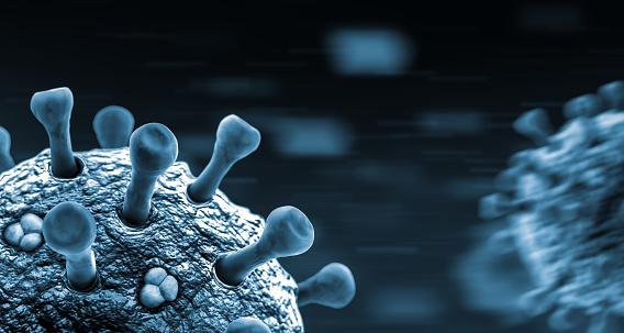 Alertness「Macro View of a Virus」:スマホ壁紙(11)
