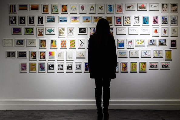 Variation「Famous Artists Donate Postcard Art For Secret Auction」:写真・画像(7)[壁紙.com]