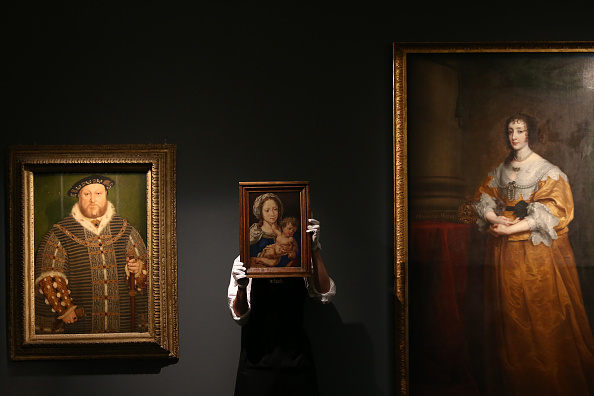 Sir Anthony Van Dyck「Sotheby's Previews The Most Valuable Exhibition Of Old Masters Ever Staged In London」:写真・画像(11)[壁紙.com]