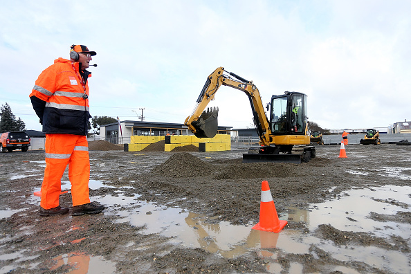 Construction Vehicle「New Zealand's  First Heavy Equipment Playground Opens In Invercargill」:写真・画像(7)[壁紙.com]