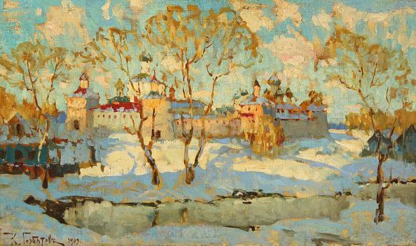 風景(季節別)「Russian Monastery In Winter」:写真・画像(12)[壁紙.com]