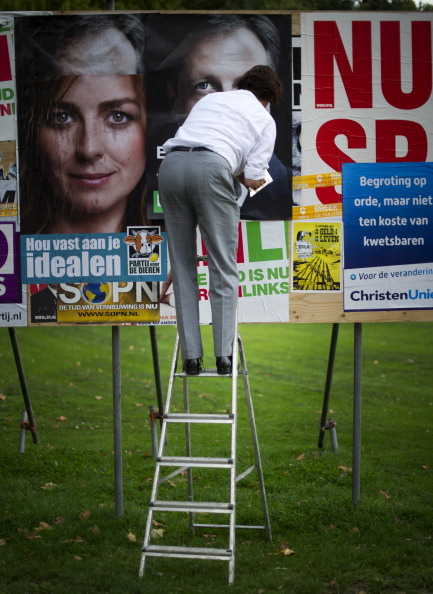 Netherlands「Dutch Prepare For Elections」:写真・画像(1)[壁紙.com]