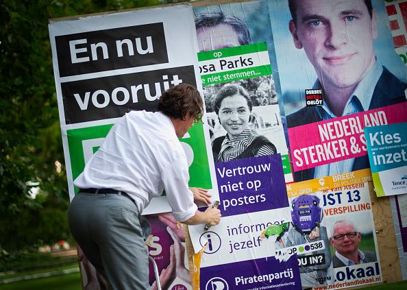Utrecht「Dutch Prepare For Elections」:写真・画像(11)[壁紙.com]