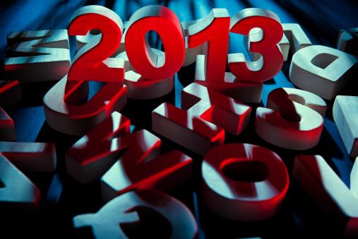 お正月「新しい年 2013」:スマホ壁紙(19)