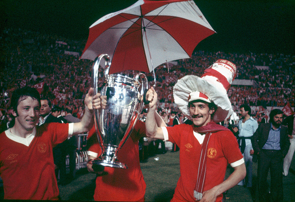 Winning「Liverpool celebrate victory 1977 European Cup Final」:写真・画像(8)[壁紙.com]