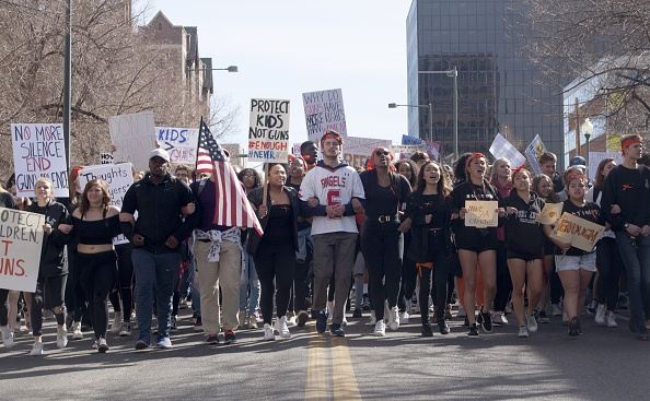 Florida - US State「Across U.S., Students Walk Out Of Schools To Address School Safety And Gun Violence」:写真・画像(13)[壁紙.com]