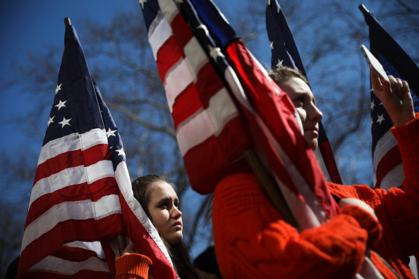 Columbus Circle「Thousands Join March For Our Lives Events Across US For School Safety From Guns」:写真・画像(16)[壁紙.com]
