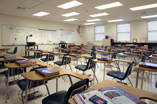 High School「High School Classroom」:スマホ壁紙(13)