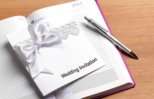 Wedding Invitation「Wedding invitation and diary」:スマホ壁紙(8)