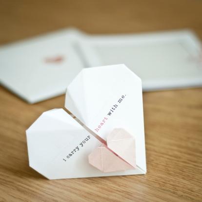 Paper Craft「Wedding invitation」:スマホ壁紙(10)