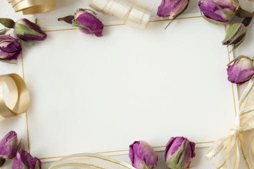 薔薇「結婚式の招待状」:スマホ壁紙(16)