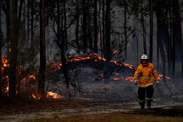 New South Wales「Multiple Bushfires Burning At Emergency Level Across NSW Following Death Of Volunteer Firefighter」:写真・画像(18)[壁紙.com]