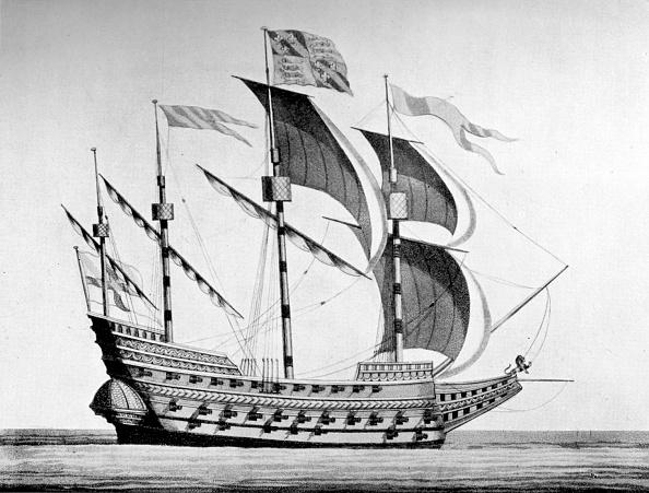 16世紀のスタイル「English sixteenth century man-of-war ship」:写真・画像(19)[壁紙.com]