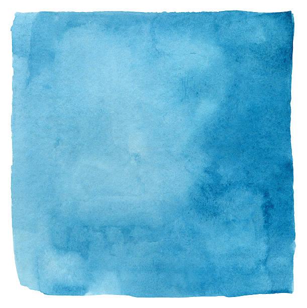 Makayan Blue Watercolour Square:スマホ壁紙(壁紙.com)