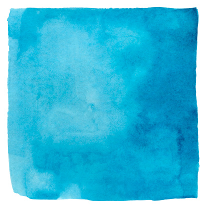 Square Shape「Makayan Blue Watercolour Square」:スマホ壁紙(5)