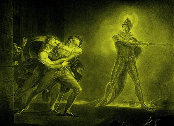 17th Century「William Shakespeare 's play Hamlet - Act I Scene IV:」:写真・画像(15)[壁紙.com]