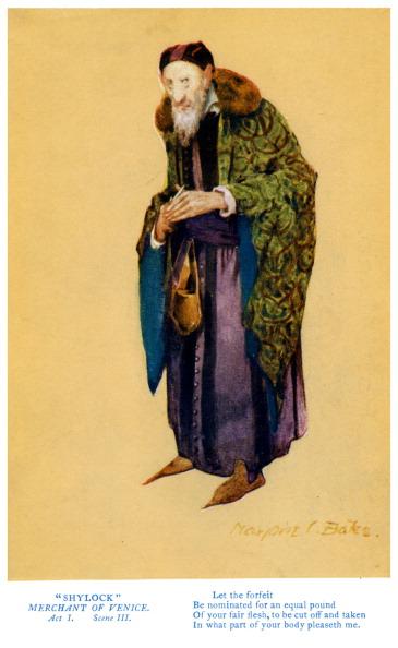 オーナー「William Shakespeare - Merchant of Venice」:写真・画像(6)[壁紙.com]