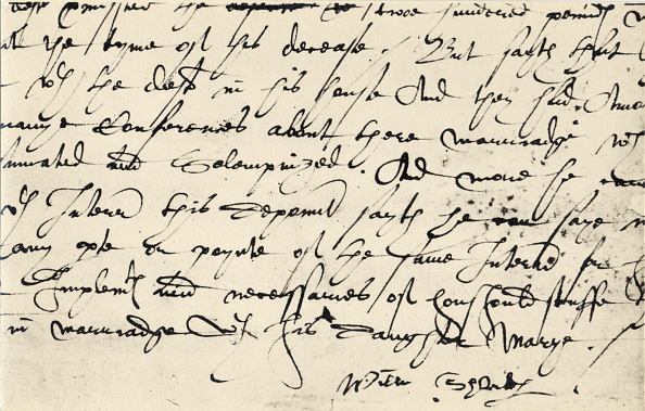 Writing「William Shakespeare - signature. English playwright,」:写真・画像(18)[壁紙.com]