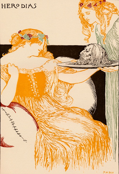 Salome - Daughter of Herodias「Herodias, 1896, (1898). Artist: Robert Anning Bell」:写真・画像(1)[壁紙.com]