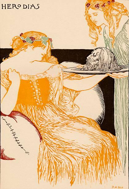 Herodias, 1896, (1898). Artist: Robert Anning Bell:ニュース(壁紙.com)