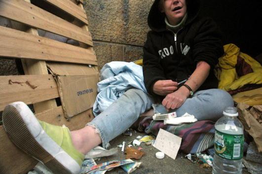 Heroin「Homelessness On The Rise In New York」:写真・画像(11)[壁紙.com]