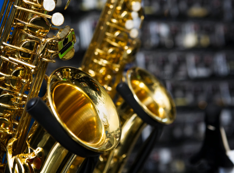 Rock Music「Saxophones」:スマホ壁紙(7)