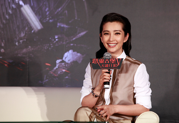 Li Bingbing「Resident Evil 5: Retribution' Taiwan Press Conference」:写真・画像(9)[壁紙.com]