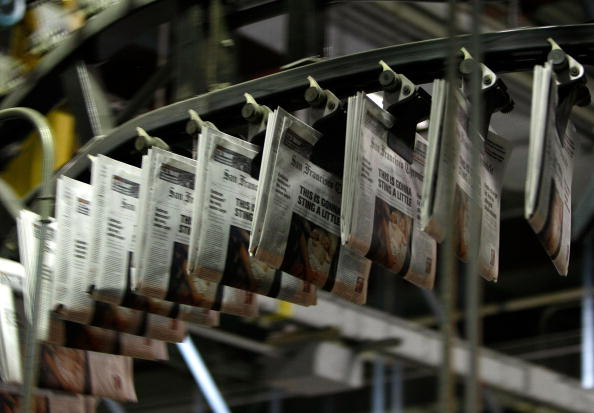 Paper「Dwindling Newspaper Sales Echo Through Economy」:写真・画像(9)[壁紙.com]