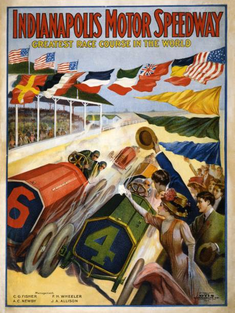 Poster Advertising The Indianapolis Motor Speedway:ニュース(壁紙.com)