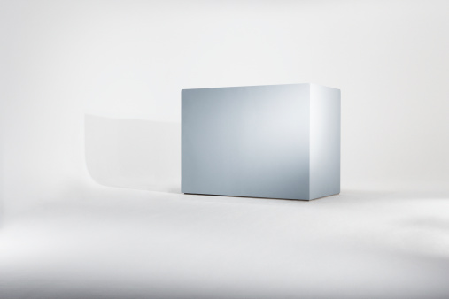 Box - Container「Empty box against white background」:スマホ壁紙(8)